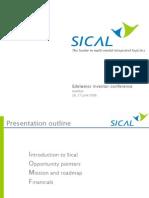Sical Edelweis Ppt 060626