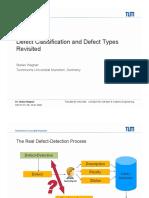 Defect classifications