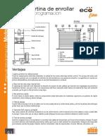 Manual motor portón