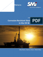 Corrosion Resistant Steels and Alloys in the Oil & Gas Industry Menu