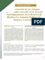 Revista Agroforestería