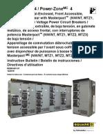 Tableros de distribución PZ4 Schneider