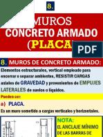 4. MUROS de Concreto Armado (Placa). 54d