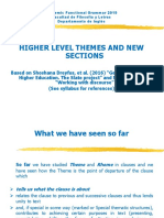 Higher Level Themes and News and Other Related Concepts