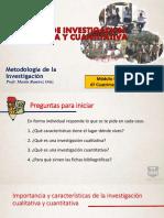 Modelos de Investigación Cualitativa y Cuantitativa