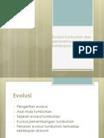 Evolusi tumbuhan dan peranannya terhadap kehidupan di bumi.pptx