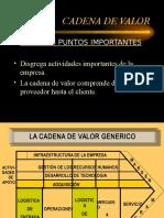 Cadena Del Valor