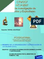 Presentacion Norma de Investigacion de Incendios Covenin