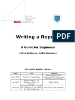 SEEE Guide to Writing a Report Revised 2019