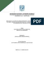 ANÁLISIS DE LICUACIÓN DE ARENAS MEDIANTE EL EMPLEO DE MÉTODOS DE CAMPO, ANÁLISIS DE RESPUESTA DE SITIO Y MODELOS NUMÉRICOS DE GENERACIÓN DE PRESIÓN DE PORO