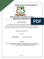 #2 Exam Prep Proposal Edited
