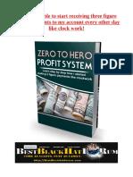 Zero to Hero Profit System