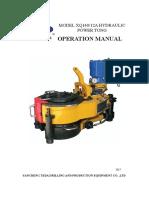 Manual de Operacion Xq 140