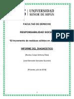 Producto Acreditable de Responsabilidad Social Rondoy Culqui Ae
