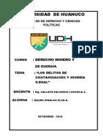 d. Minero y de Energía - 1ra.tarea Académica - 2019 II