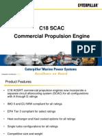 C18 ACERT Tier 3 Commercial Sales Presentation