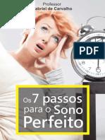 7 Passos Para o Sono Perfeito