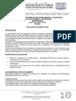 Eva. Distancia Antropología 2-2019