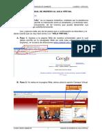Manual Para El Ingreso Al Aula Virtual