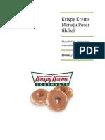 Krispy Kreme Doughnuts Going Global
