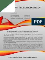 PPT Organisasi Profesi Keguruan