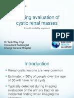 Cystic Renal Masses DrTheo