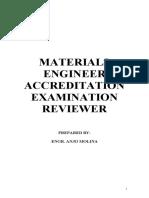 Materials Engineer Reviewer