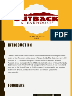 Outback Case Study