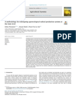 A Methodology for Redesigning Agroecological Radical Production Systems At
