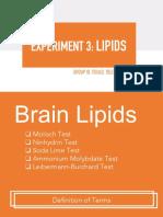 Lipids 2