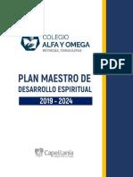 Plan Maestro de Desarrollo Espiritual Colegio Alfa y Omega