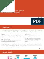 Nano-Net LoRa Platform