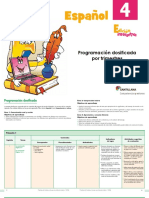 Programa lenguaje y comunicacion 4 grado