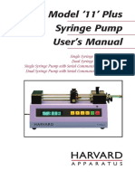 Harvard Apparatus, Model 11 Plus Syringe Pump User Manual.pdf