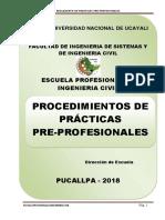 Presentacion de Practicas Pre- profesionales