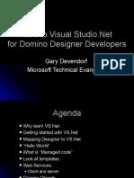 Intro to Visual Studio Dot Net