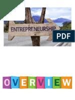 Overview of Entrepreneurship