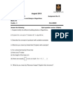 MC0080-Analysis & Design of Algorithms-Fall-10