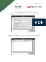How to Setup Hikvision Auto Backup