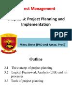 Chapter Three Planning