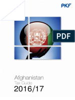 Afghanistan Tax Guide
