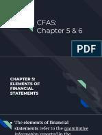 Conceptual Framework Chapter 5-6
