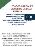 LOS 42 PECADOS CAPITALES Y LOS JUECES DE LA DUAT.pptx
