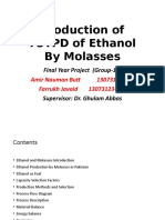 Production of Ethanol by Molasses .pptx