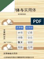 01文学体与实用体(a bit).pptx