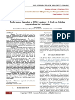 PerformanceAppraisalAtBSNLLucknowAStudyOnExistingAppraisalAndItsLimitation(254-260)