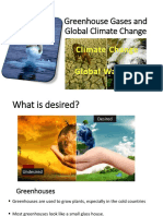 Lec-8 Greenhouse Gases and Global Climate Change
