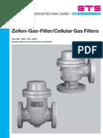 Zellengas Filter for Gen Manual