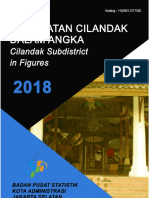 Kecamatan Cilandak Dalam Angka 2018