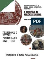 Aspetos Da Formação Do Estado Liberal Oitocentista Português
